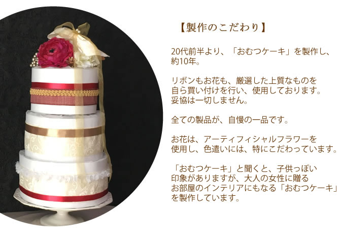 おむつケーキ浜松